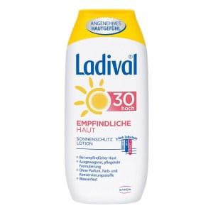 德国药妆防晒品牌Ladival普通及敏感肌肤防晒露LSF 30