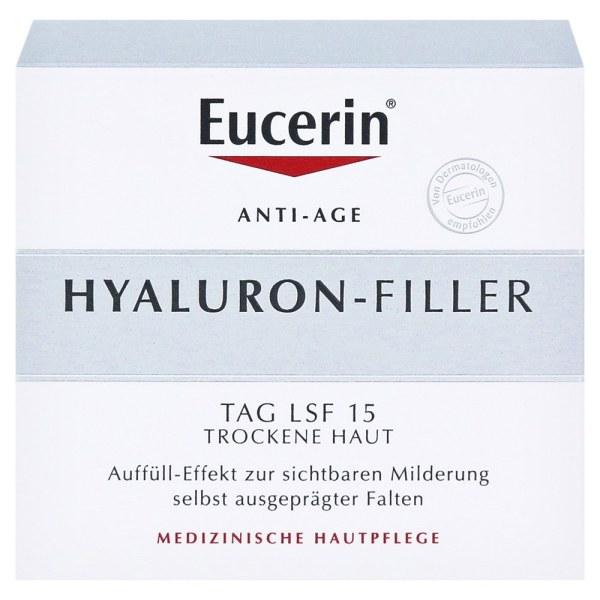 德国Eucerin 优色林玻尿酸抗皱平纹日霜