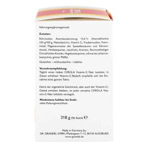 Cerola 维生素C 营养补充胶囊含片 96粒