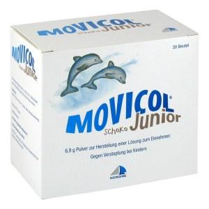 Movicol Junior 儿童通便便秘饮料/冲剂 巧克力味 无糖无热量