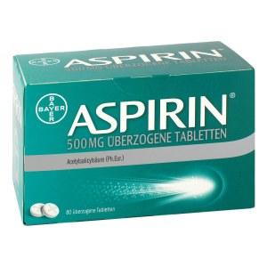 德国Aspirin 阿司匹林500mg发烧头痛止痛片