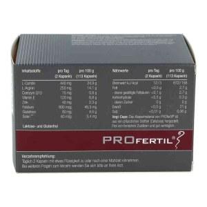 德国ProFertil 男性备孕提高精子活力胶囊