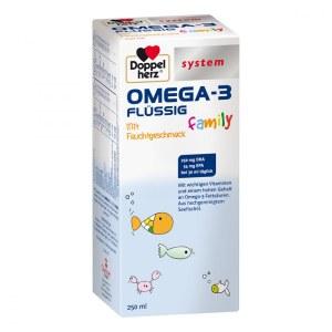 德国Doppelherz 双心Omega-3儿童液剂