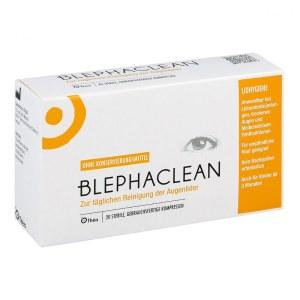 德国 Blephaclean Kompressen 压缩眼部无菌清洁纱布 (20 片)
