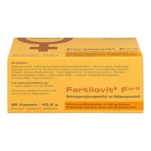 德国Fertilovit 女性卵子备孕胶囊
