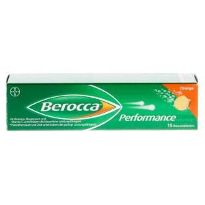 德国 Berocca Performance 泡腾片 (15 片)