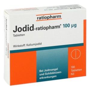 补碘片-ratiopharm 100μg (100片)