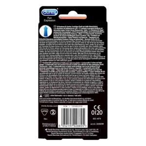 Durex/杜蕾斯 EMOTIONS避孕套 装 10只 安全套计生用品超薄敏感