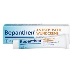 德国Bepanthen 伤口抗菌消毒护理霜