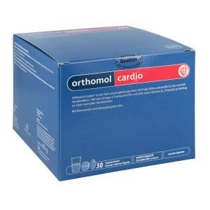 德国Orthomol 奥适宝Cardio心血管系统保健颗粒/胶囊组合装