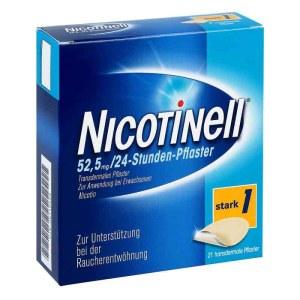 德国Nicotinell 成人特效戒烟贴