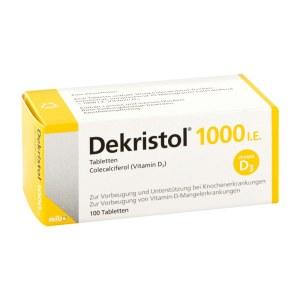 德国Dekristol 维生素D3 100粒