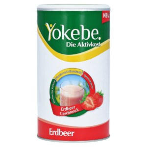 德国 Yokebe 天然健康有效活性减肥代餐草莓味蛋白粉 (500 g)