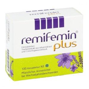 德国RemifeminPlus 莉芙敏更年期综合症缓解片