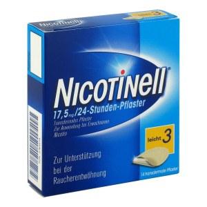 Nicotinell 戒烟疗戒烟贴片尼古丁贴片 17,5mg/24 小时  14片装