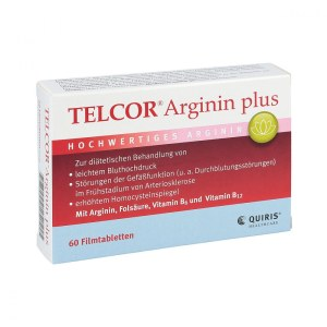 德国Telcor 精氨酸降压心血管保健片