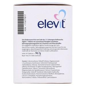 德国 Elevit 爱乐维 1 段备孕&孕期营养片 (90 粒)