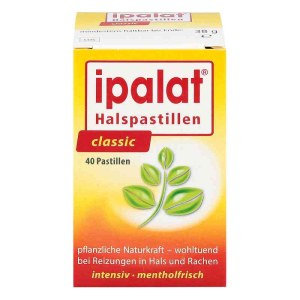 IPALAT 护嗓润喉糖 纯植物提取  40粒