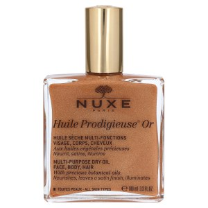 法国Nuxe 欧树 Huile Prodigieuse Or 多效滋养护理油 (100 ml)