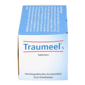 德国Traumeel 伤口消炎速效愈合膏纯植物无激素药片 250片