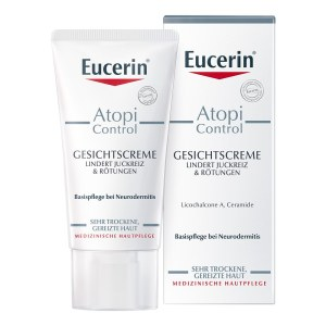 德国Eucerin 优色林湿疹抗过敏舒缓面霜