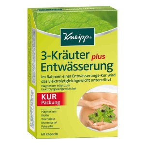 德国Kneipp 克奈圃天然植物减水肿胶囊
