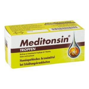 德国Meditonsin 天然草本咽喉炎滴剂