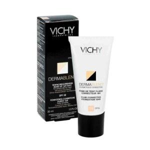 Vichy薇姿修颜持久遮瑕粉底液SPF35 30ml 15号象牙白色
