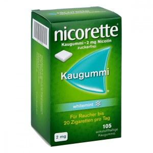 德国NICORETTE 力克雷戒烟美白牙齿口香糖