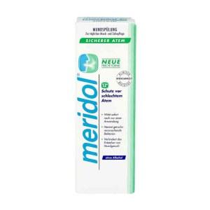 德国Meridol漱口水 防牙龈炎缓解牙疼痛除口臭400ml