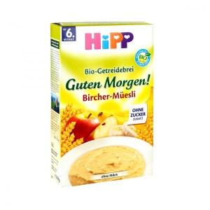 HiPP 喜宝 宝宝有机多种谷物燕麦苹果香蕉早安米粉/米糊 250g 6个月以上宝宝辅食