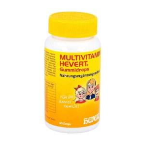 德国Hevert 多种维生素儿童软胶囊