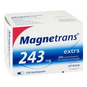 Magnetrans 243 mg 营养补充镁胶囊 100粒