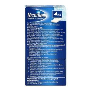 Nicotinell 戒烟糖 4mg 24粒