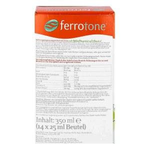德国Ferrotone 苹果维生素C补铁颗粒(14X25 ml)