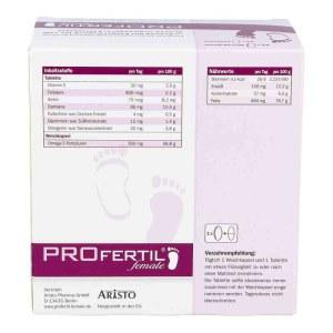 德国Profertil 女士备孕营养片胶囊组合套装各84粒