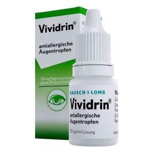 VIVIDRIN 过敏结膜炎 色甘酸钠滴眼液 10ml