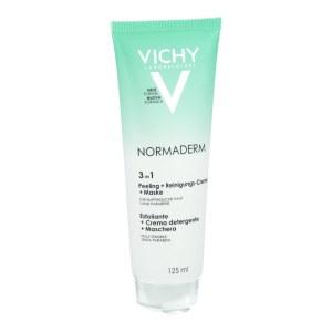 Vichy NORMADERM Tri-A Gel净颜无瑕三重功效)清洁/磨砂/面膜啫喱125ml
