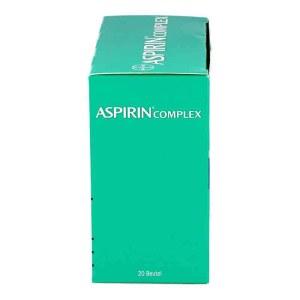 德国Aspirin 阿司匹林综合缓释冲剂