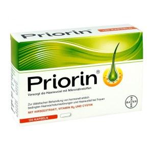 德国Priorin 拜耳女性增发密发脂溢胶囊 (120粒)
