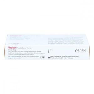 德国Vagisan阴道乳酸栓剂8粒+霜 乳酸菌/霉菌细菌滴虫阴道炎妇科
