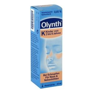 OLYNTH 幼儿0.05%盐水鼻塞喷雾 2-6岁 10 ml