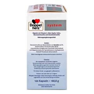德国Doppelherz 双心软骨素营养胶囊 (有效期至: 5/31/2019)