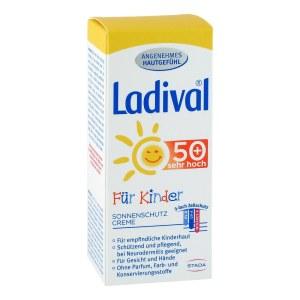 德国Ladival 儿童护肤防水SPF50+防晒霜