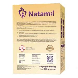 德国Natamil 纳德美婴幼儿配方奶粉1段