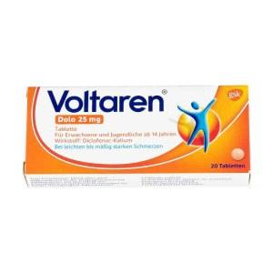 德国Voltaren 扶他林风湿关节消炎止痛片