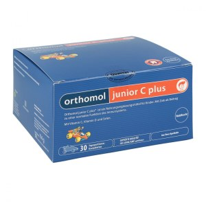 德国Orthomol 奥适宝JuniorC Plus增强儿童免疫力复合营养咀嚼片 (浆果味)