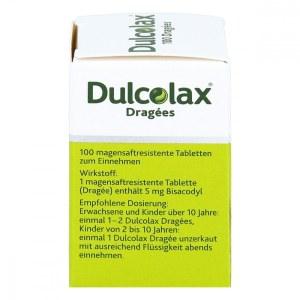 德国Dulcolax 缓解便秘促进肠蠕动糖衣片