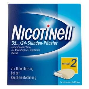 Nicotinell 戒烟疗戒烟贴片尼古丁贴片 35mg/24 小时  14片装