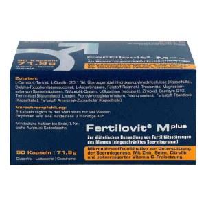 德国Fertilovit 男性精子备孕胶囊